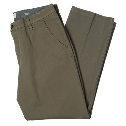Dockers Mens Khaki Pants Stretch Straight Fit