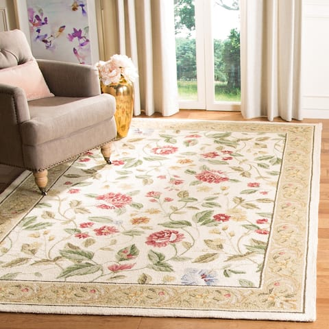 Safavieh Hand-hooked Chelsea Sharde Country Oriental Wool Rug