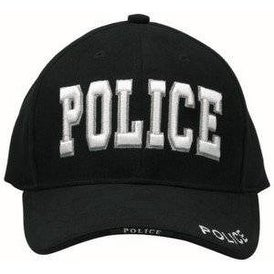 128c2c85ec1 Shop Rothco Black Deluxe SWAT Insignia Cap - Free Shipping On Orders Over   45 - Overstock - 17266853