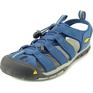 Keen Clear Water Cnx Men Round Toe Canvas Blue Fisherman Sandal