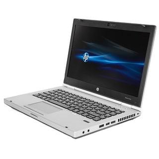 HP Elitebook 8470P Intel Core i5-3210M 2.5GHz 3rd Gen CPU 4GB RAM 128GB SSD Windows 10 Pro 14-inch Laptop (Refurbished)