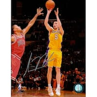 Signed Blake Steve Los Angeles Lakers 8x10 Photo autographed