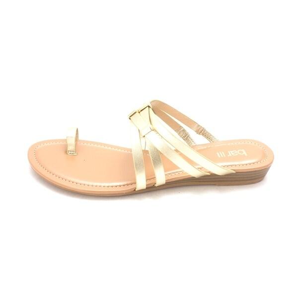Bar III Womens Vanita Open Toe Casual Slide Sandals