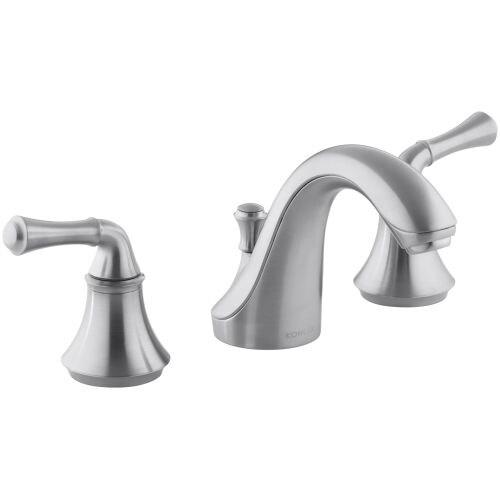 Kohler KA Forte Widespread Bathroom Faucet With UltraGlide - Kohler bathroom faucet valve replacement