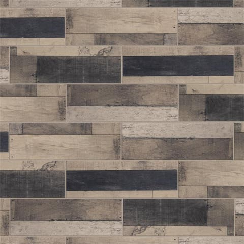 SomerTile 7.875x23.625-inch Bosque Gris Ceramic Floor and Wall Tile