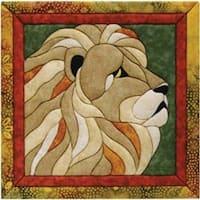 """12""""X12"""" - Lion Quilt Magic Kit"""
