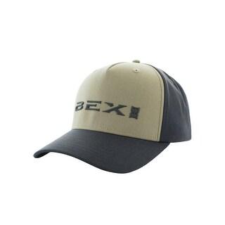 Bex Hat Adult Scepter Snap Back 3D Logo Baseball OS Khaki Gray H0022