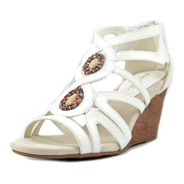 Easy Street Unity Women White Sandals