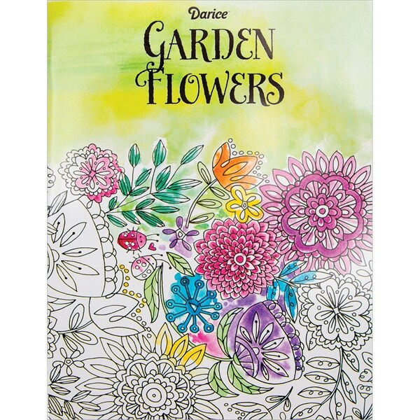 Darice Coloring Book-Flower