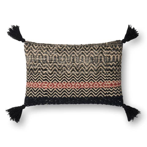 Alexander Home Zumi Bohhemian Chevron Throw Pillow