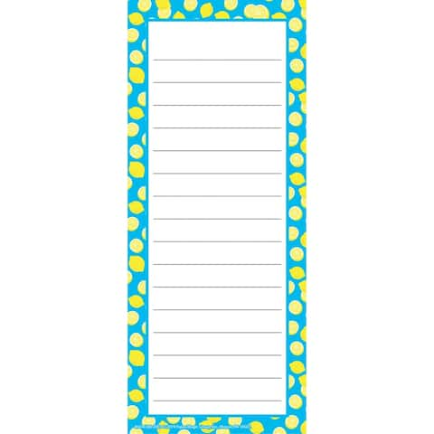 "Always Try Your Zest Note Pad, 3 1/2"" x 8 1/2"", 50 Sheets - One Size"