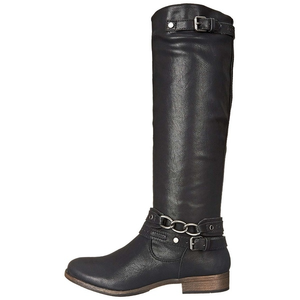 Madeline Womens Buy It Closed Toe Knee High Riding Boots - 9
