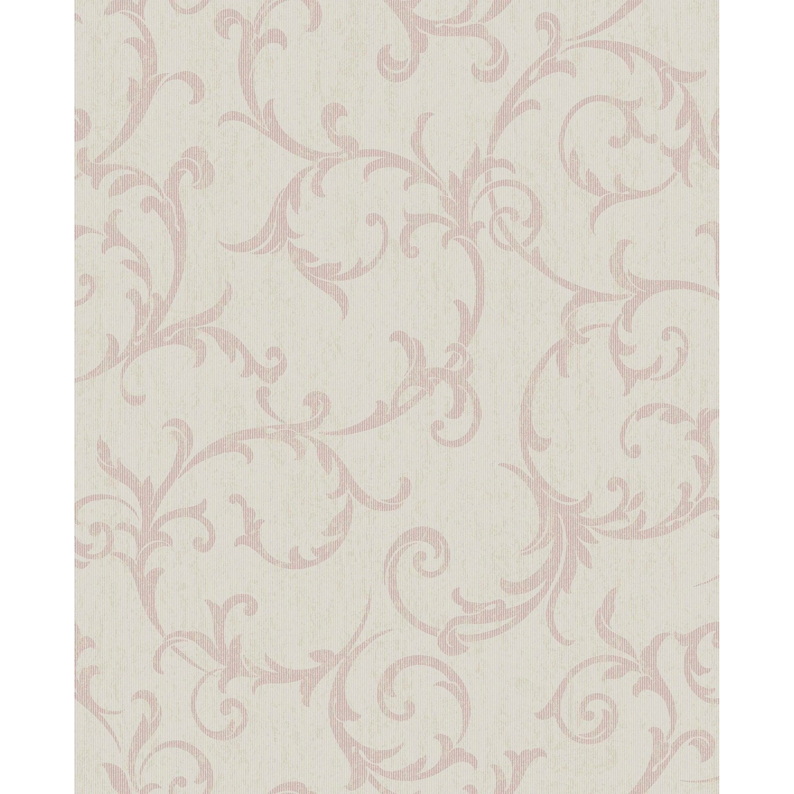 Chesapeake Ccb02134 Lorraine Lily Floral Wallpaper Blue