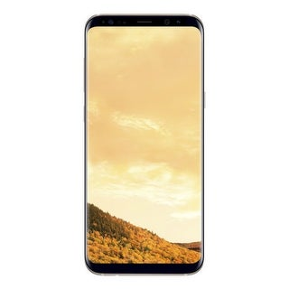 Samsung Galaxy S8 Plus Gold Unlocked GSM Mobile Phone