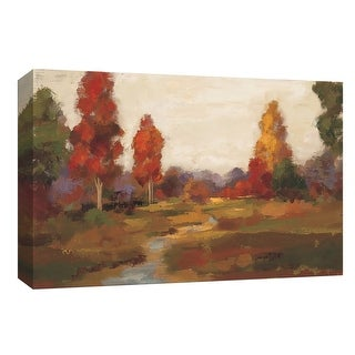 "PTM Images 9-153745  PTM Canvas Collection 8"" x 10"" - ""Fall Creek"" Giclee Forests Art Print on Canvas"