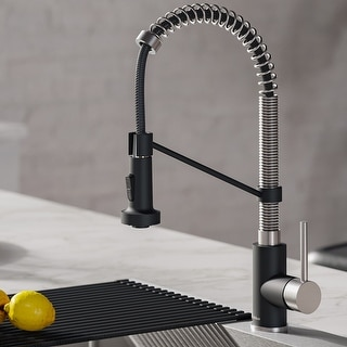 Link to Kraus Bolden 2-Function 1-Handle Commercial Pulldown Kitchen Faucet Similar Items in Faucets
