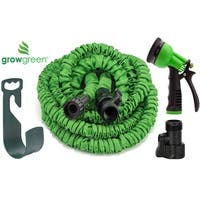 GrowGreen® Expandable Garden Hose Set 50 Feet