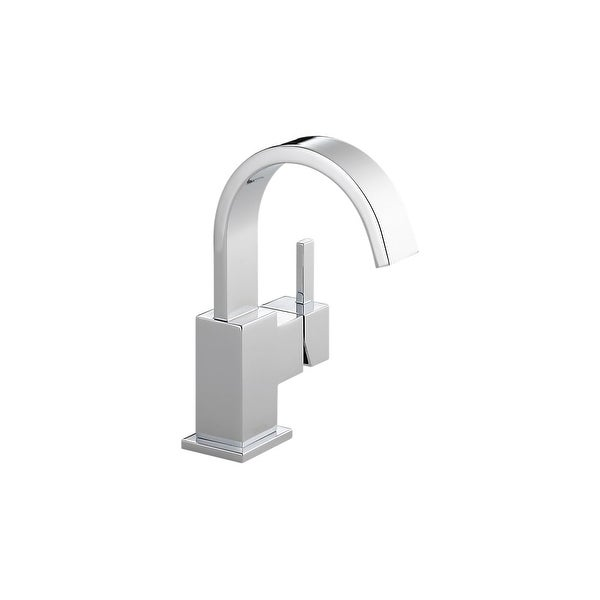 Shop Delta 553lf Gpm Vero Single Hole Bathroom Faucet Includes