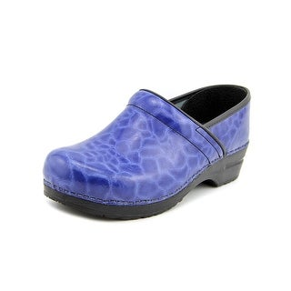 Sanita Professional Shasa Women Round Toe Patent Leather Clogs