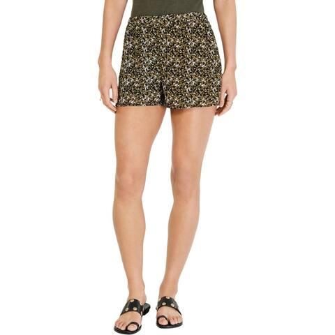 MICHAEL Michael Kors Womens Shorts Floral Soft