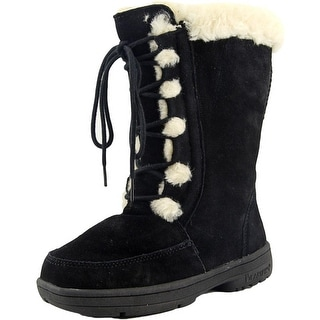 Bearpaw Macey Round Toe Suede Winter Boot