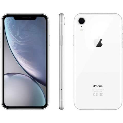 Apple iPhone XR 128GB White Fully Unlocked (Refurbished)