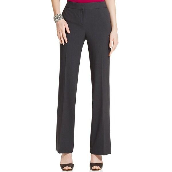 Nine West NEW Granite Grey Straight Leg Bottoms Women's 12 Dress Pants