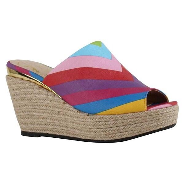 J.Renee Womens Prys Open Toe Casual Platform Sandals