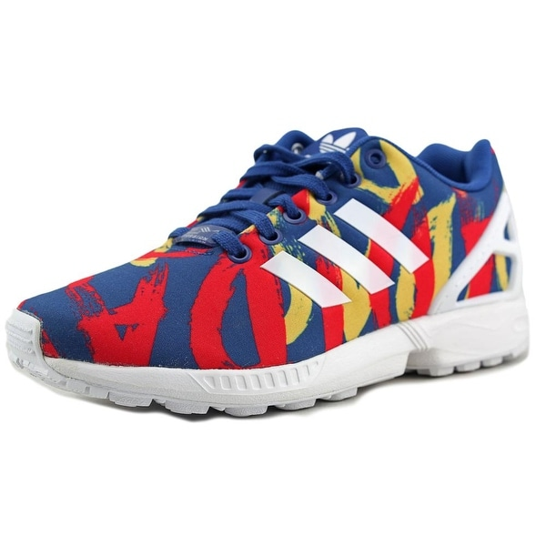 Shop Adidas Zx Flux Round Toe Synthetic Sneakers - Free Shipping On ... e28406faa