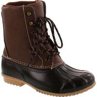Sugar Women's Squall Rain Duck Boot - Brown