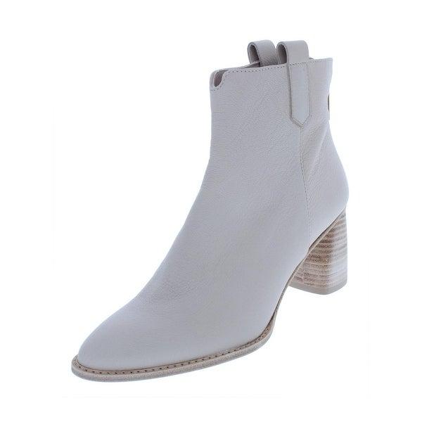 93271e2c32a9 Shop Stuart Weitzman Womens Novako Booties Leather Ankle - Free ...