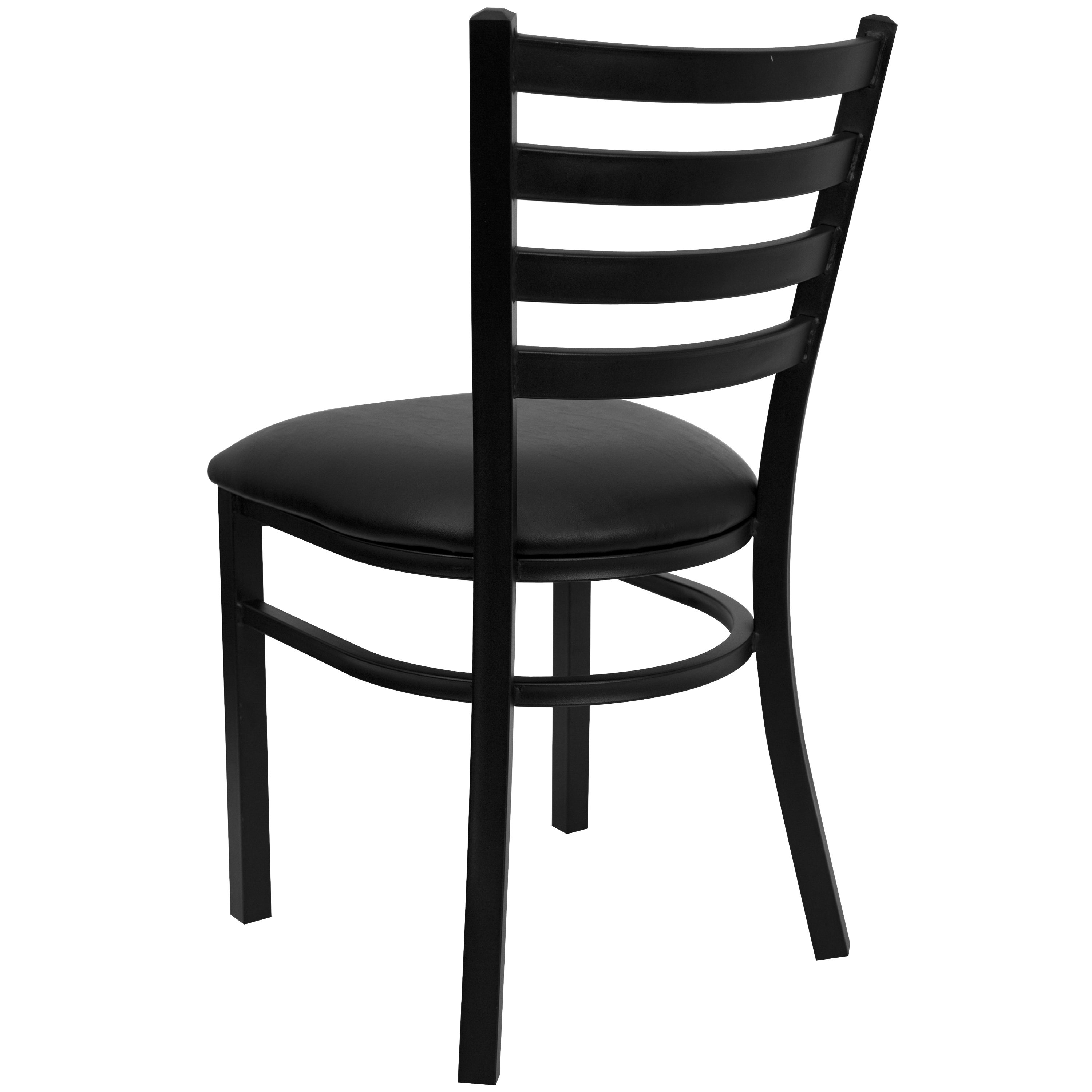 Picture of: Ladder Back Metal Restaurant Chair 16 5 W X 17 D X 32 25 H 16 5 W X 17 D X 32 25 H On Sale Overstock 10673582