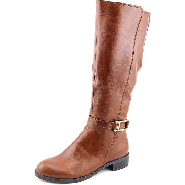 Life Stride Sterling Women Round Toe Synthetic Brown Knee High Boot