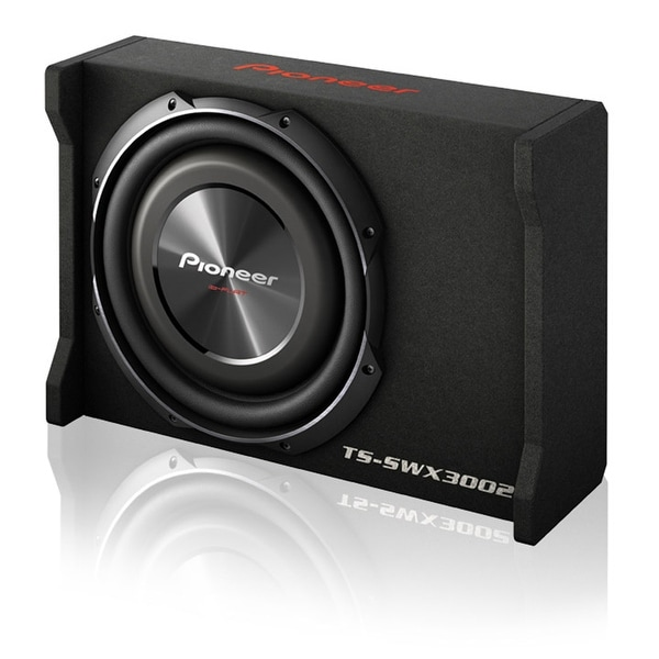 "Pioneer 12"" Shallow Mount Pre-Loaded Enclosure 1500W Max"