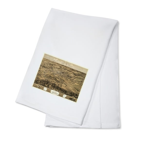 Shop Mexico Missouri Panoramic Map 100 Cotton Towel Absorbent