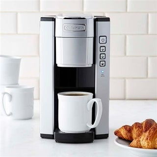 Cuisinart Compact Single Serve Coffeemaker - White Compact Coffeemaker