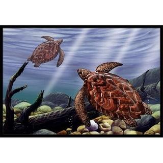 Carolines Treasures PTW2042MAT Sea Turtles Indoor & Outdoor Mat 18 x 27 in.