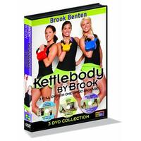 GoFit Brook Benten Kettlebody 3 Disk DVD Set