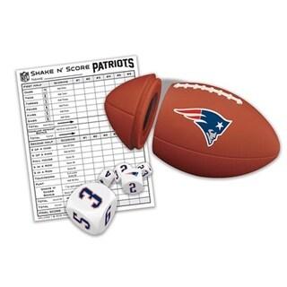 Masterpieces 41510 New England Patriots Shaken Score Puzzle