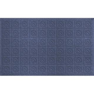 843610024 Water Guard Star Quilt Mat in Navy - 2 ft. x 4 ft. ft.