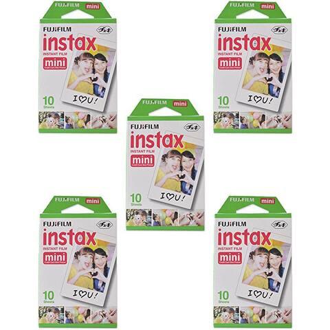 Fujifilm Instax Mini Film 5 10 Pack (50 prints)