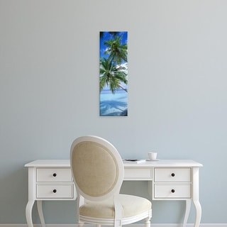 Easy Art Prints Panoramic Images's 'Maldives' Premium Canvas Art
