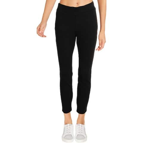 NYDJ Womens Petites Leggings High Rise Heathered
