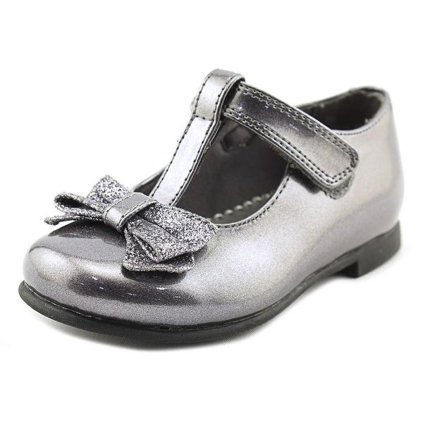 Shop Rachel Shoes Lil Molly Toddler Round Toe Synthetic Gray Mary ... 768a1ba4cd0f