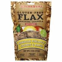 Flax4Life 270932 11 oz. Granola Hawaiian Gulten Free