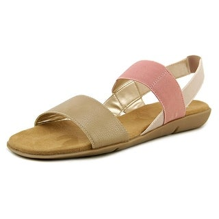 A2 By Aerosoles Savant Open Toe Canvas Sandals