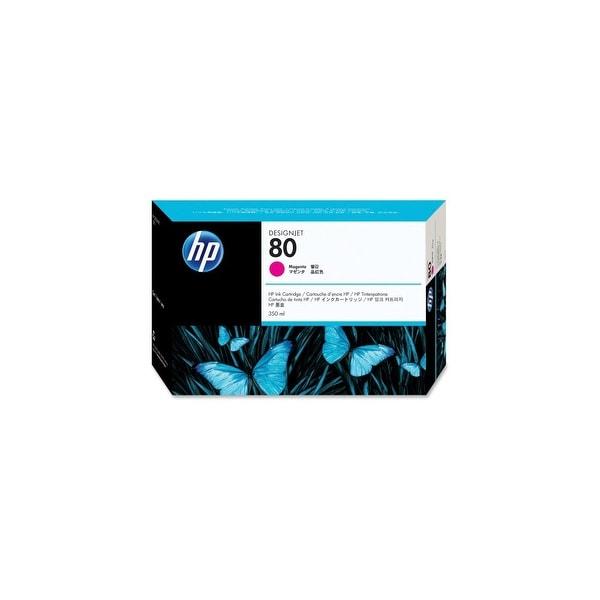 HP 80 350-ml Magenta DesignJet Ink Cartridge (C4847A) (Single Pack)