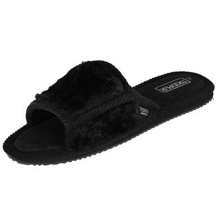 Trooper America Women's Basic Slide House Shoe Slippers