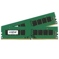 Crucial 32Gb Kit (16Gbx2) Ddr4 2400 Mt/S (Pc4-19200) Dr X8 Unbuffered Dimm 288-Pin Memory - Ct2k16g4dfd824a