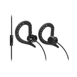 JBL Focus 300 Behind-the-Ear Sweat Proof Sport Headphones with Microphone- Black - 1.2 x 6.9 x 2.4